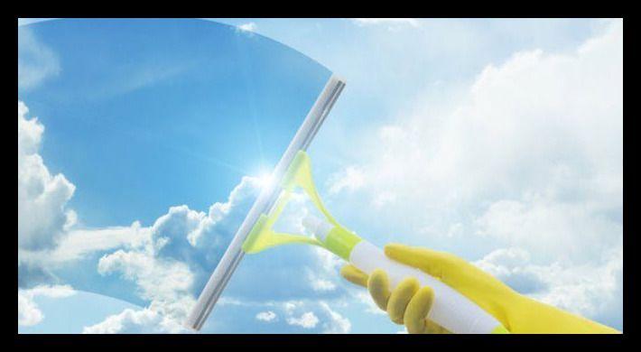 formas efectivas de limpiar vidrios