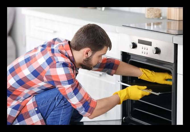 como lavar el horno en casa