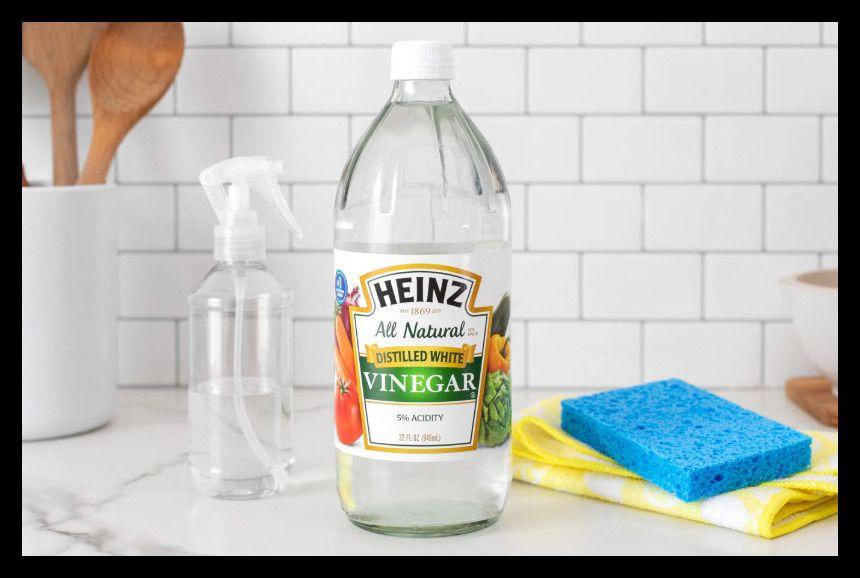 limpiar cocina con vinagre